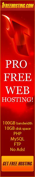 Free Webspace hosting